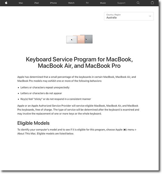 Apple Website KBRP